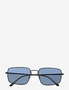 Sunglasses - okulary przeciwsłoneczne w kształcie litery d - dark blue