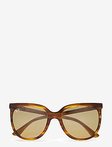 Ray-Ban Sunglasses - square frame - stripped red havana
