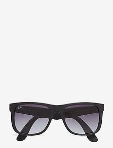 JUSTIN - okulary przeciwsłoneczne w kształcie litery d - rubber black