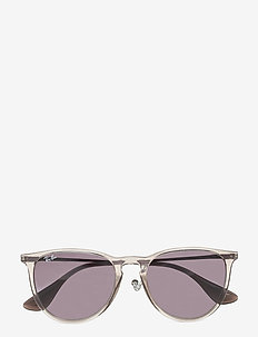 ERIKA - round frame - light grey gradient dark grey