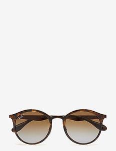 NOT CLASSIFIED - ronde zonnebril - light havana