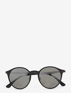 0 - ronde zonnebril - grey mirror silver