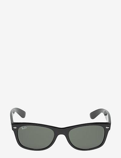 NEW WAYFARER - d-vormige zonnebril - black