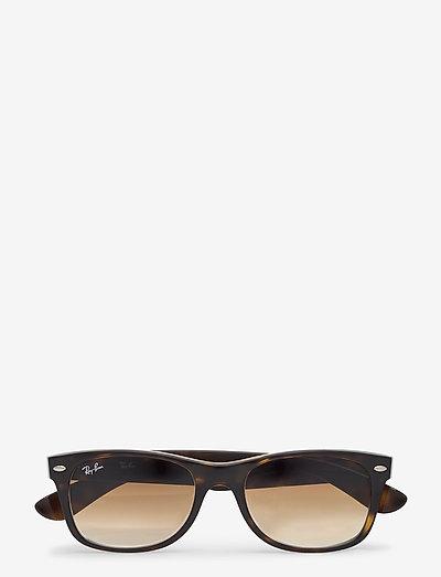 NEW WAYFARER - d-vormige zonnebril - light havana