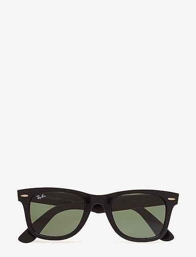 WAYFARER - d-vormige zonnebril - black