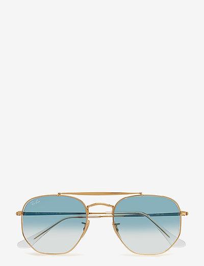 THE MARSHAL - piloten zonnebril - gold