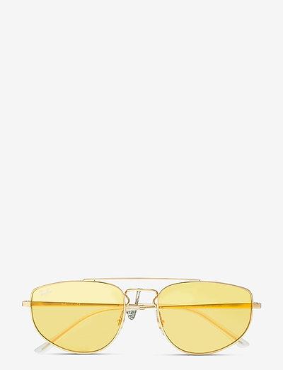 Sunglasses - aviatora stila - evolve photo yellow to green