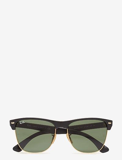 CLUBMASTER OVERSIZED - d-vormige zonnebril - demi shiny black/arista