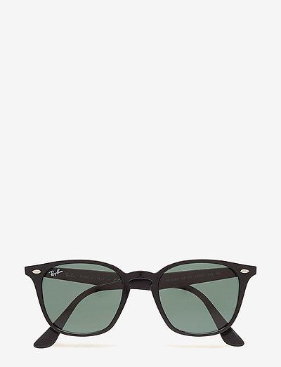 HIGHSTREET - d-vormige zonnebril - black/green