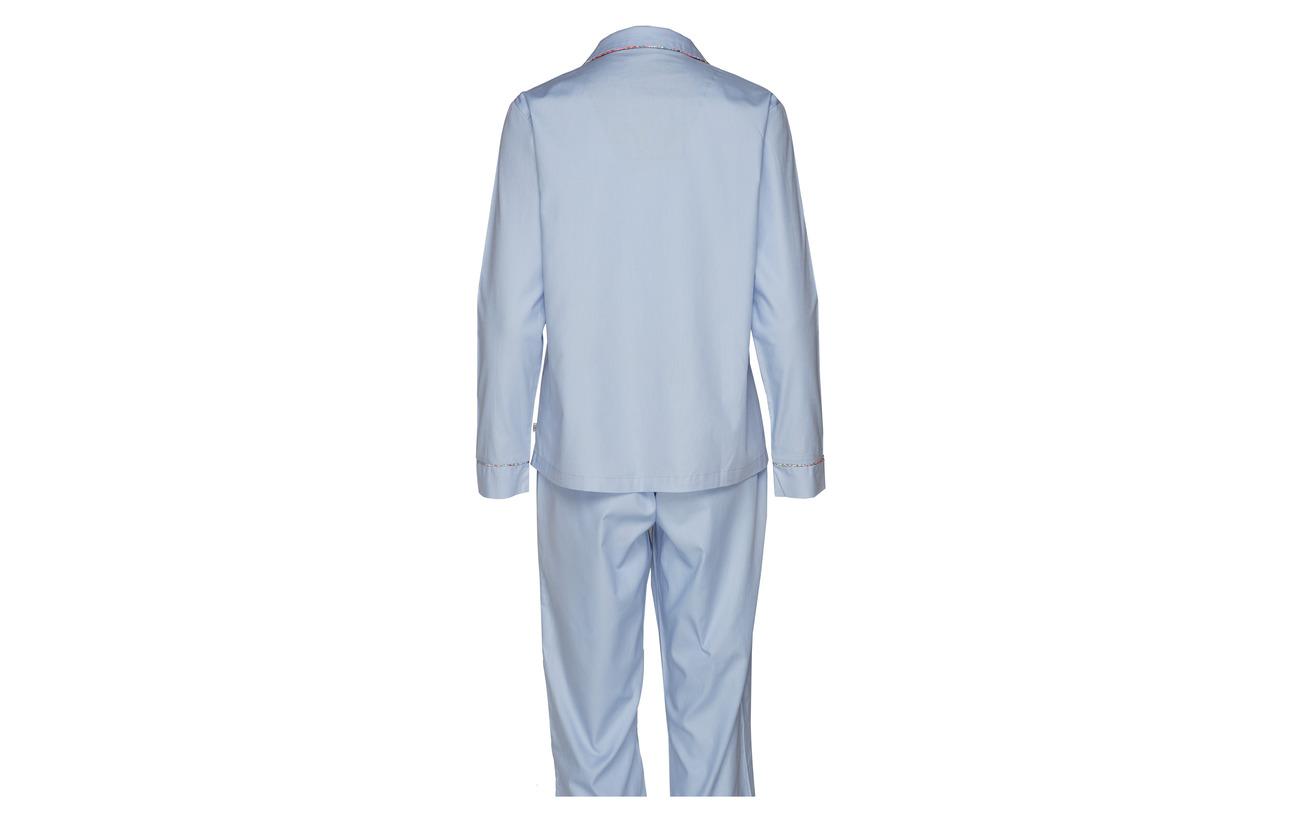 Solid Coton Rayville Navy Pyjamas Blue Debbie 100 0HqEpwaq