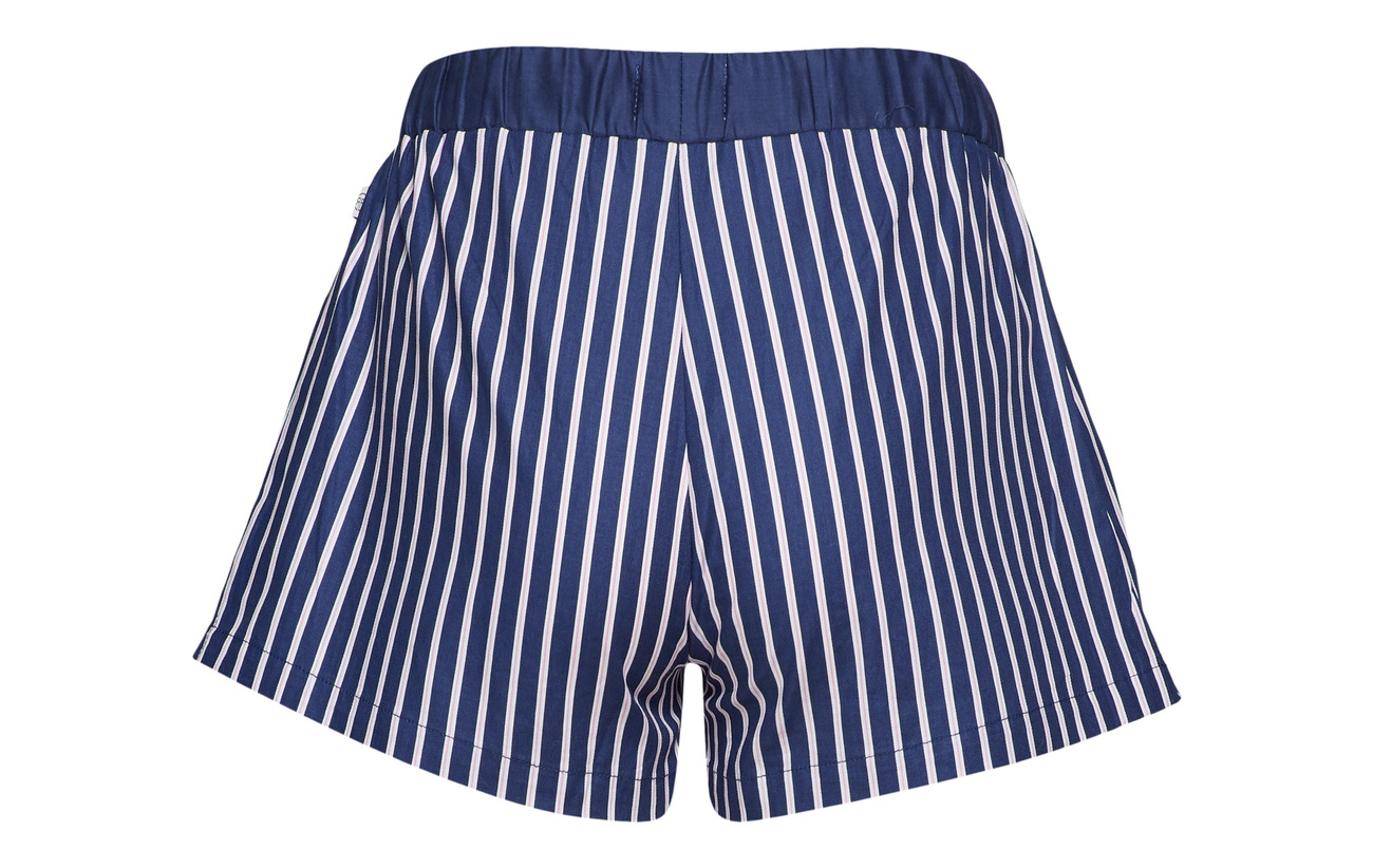 Coton Shorts Pj Alanis Blue Rayville 100 Pencil Pink Stripe 4qfRavRn