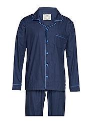 Mick Pyjamas Solid - navy blue - S - NAVY BLUE