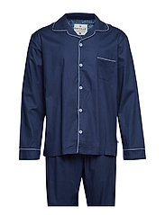 245ec45e86 Rayville. Mick pyjamas solid - navy blue ...