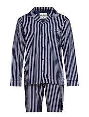 Mick Pyjamas Pencil Stripe - blue/pink - S - BLUE / PINK