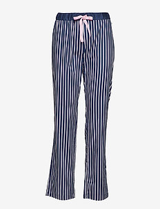 Chrissie PJ Pant Pencil Stripe - BLUE / PINK