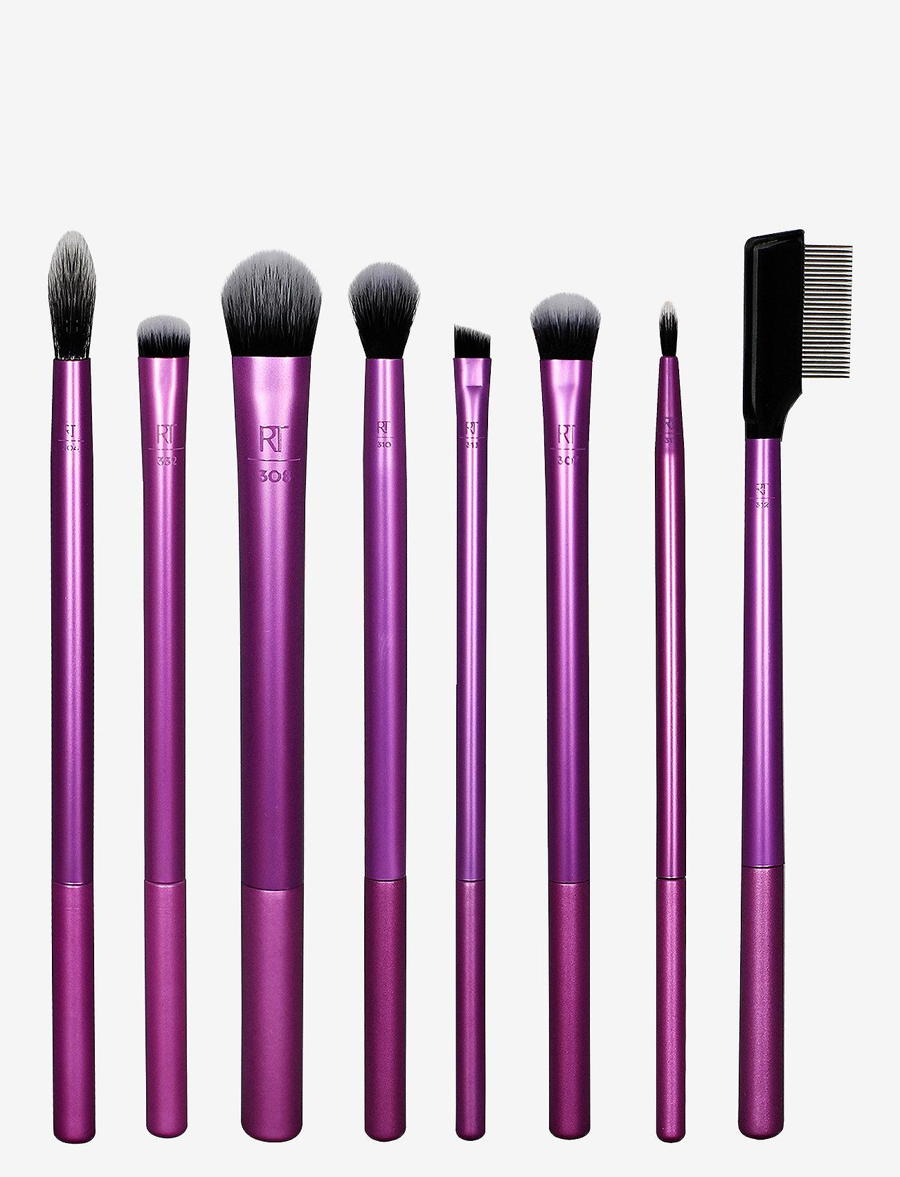 Real Techniques - Real Techniques Enhanced Eye Set - sett - purple - 0