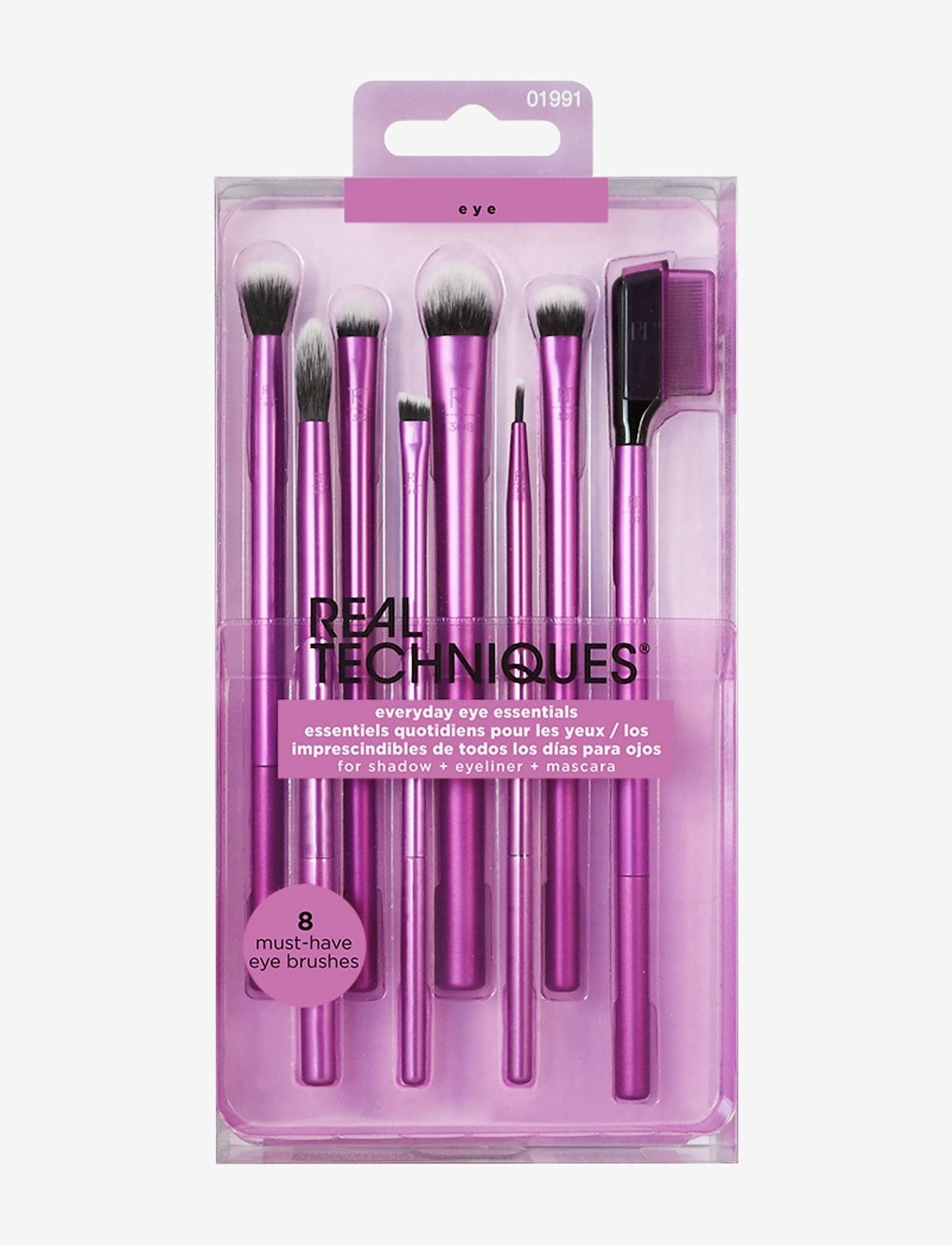 Real Techniques - Real Techniques Enhanced Eye Set - sett - purple - 1