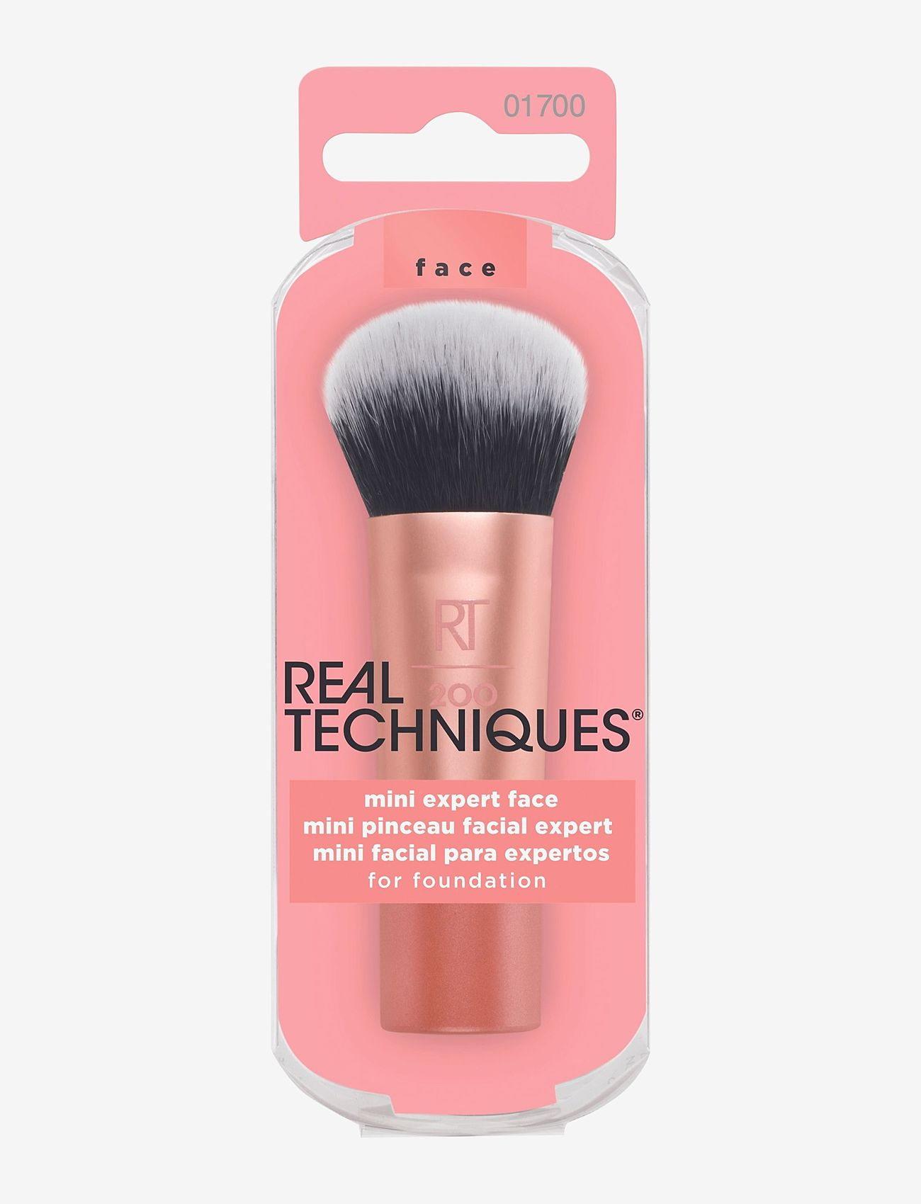 Real Techniques - Real Techniques Mini Expert Face Brush - ansikte - orange - 1