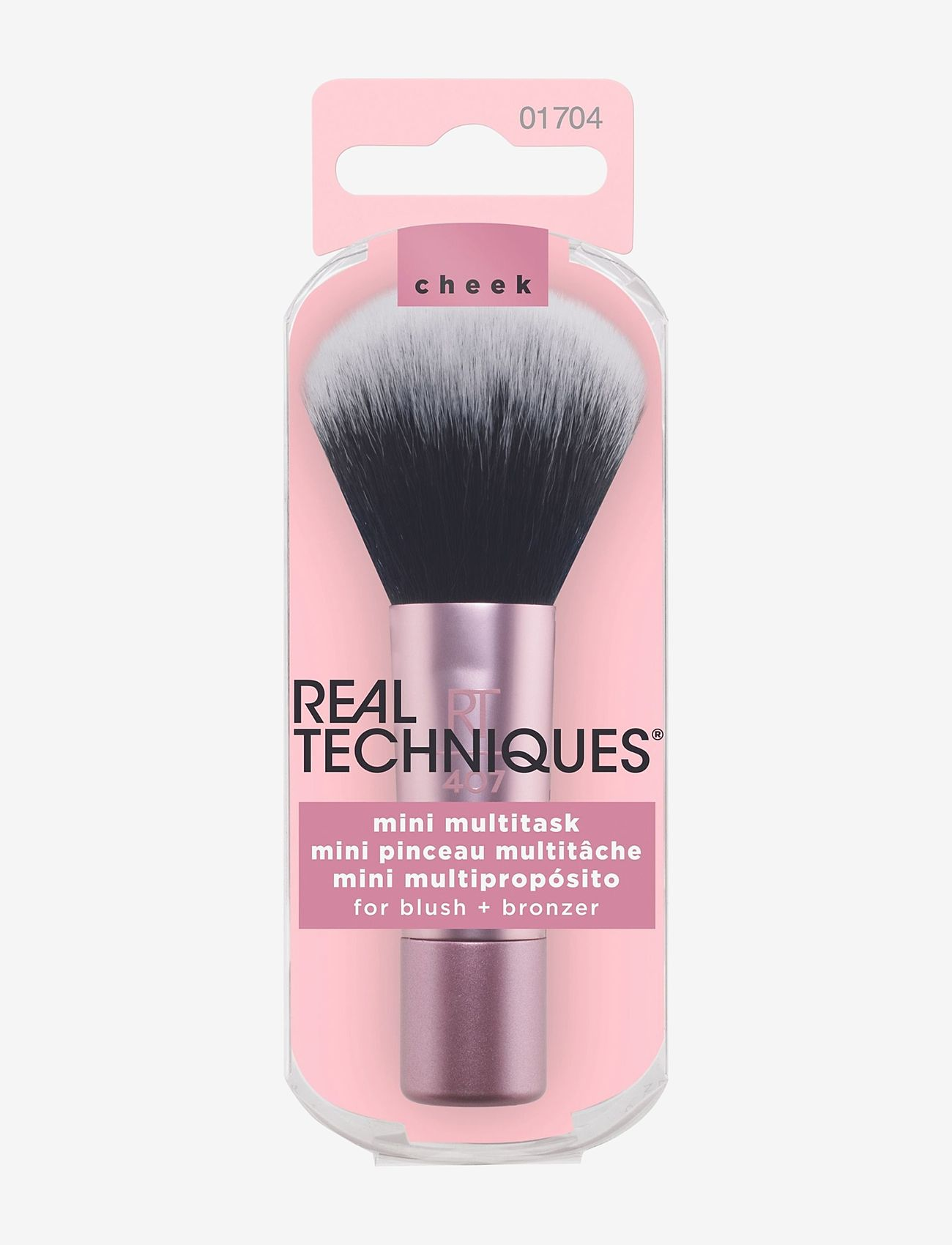 Real Techniques - Real Techniques Mini Multitask Brush - ansikte - pink - 1