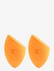 Real Techniques - Real Techniques 2 Pk Mircle Complex Spng Mltlg - svampe - orange - 0