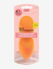 Real Techniques - Real Techniques 2 Pk Mircle Complex Spng Mltlg - svampe - orange - 1