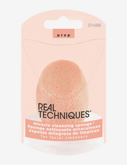 Real Techniques - Real Techniques Miracle Cleansing Sponge - svampe - orange - 1