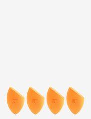 Real Techniques - Real Techniques 4 Miracle Complexion Sponges - svampe - orange - 1