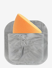 Real Techniques - STICK & STORE SPONGE KEEPER - meikkivälineet - grey - 1