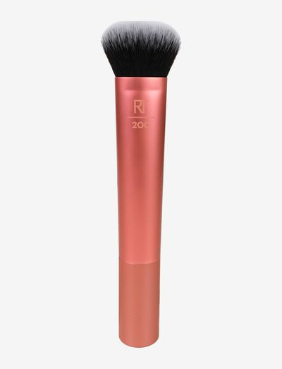 Real Techniques Expert Face Brush Multilingual - ansikte - orange