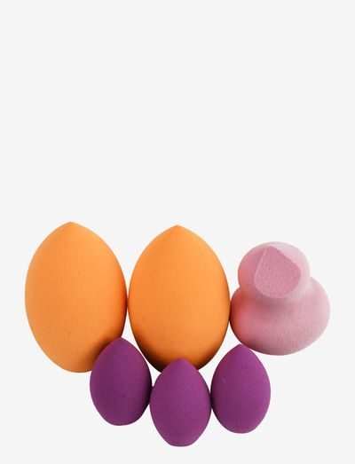 Real Techniques 6 Miracle Complexion Sponges - meikkisienet - orange