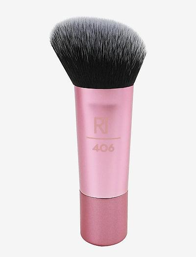 Real Techniques Mini Medium Sculpting Brush - pensler til ansigtet - pink