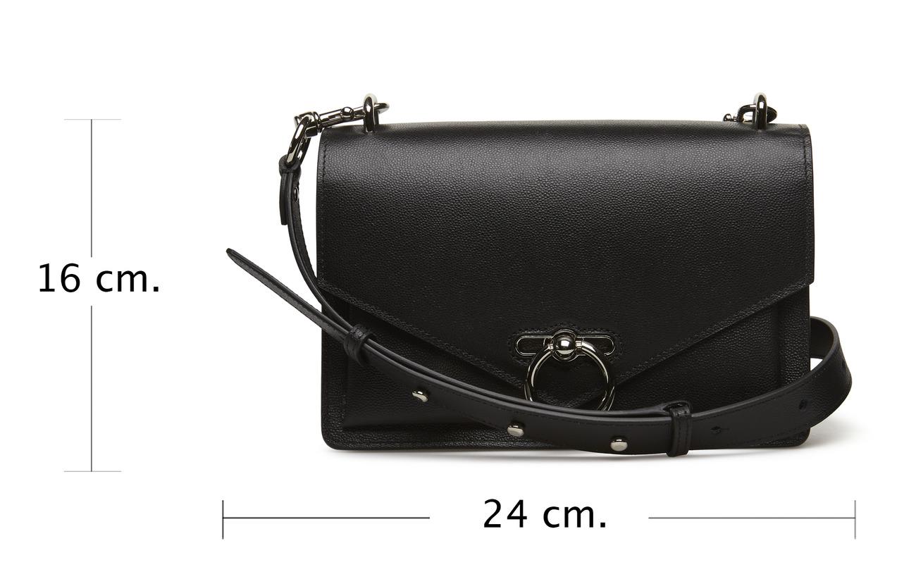 Caviar Bag Silver Rebecca Doublure Black Équipement Md Shoulder Intérieure Minkoff 100 Jean Cuir Polyester xBqB7IA