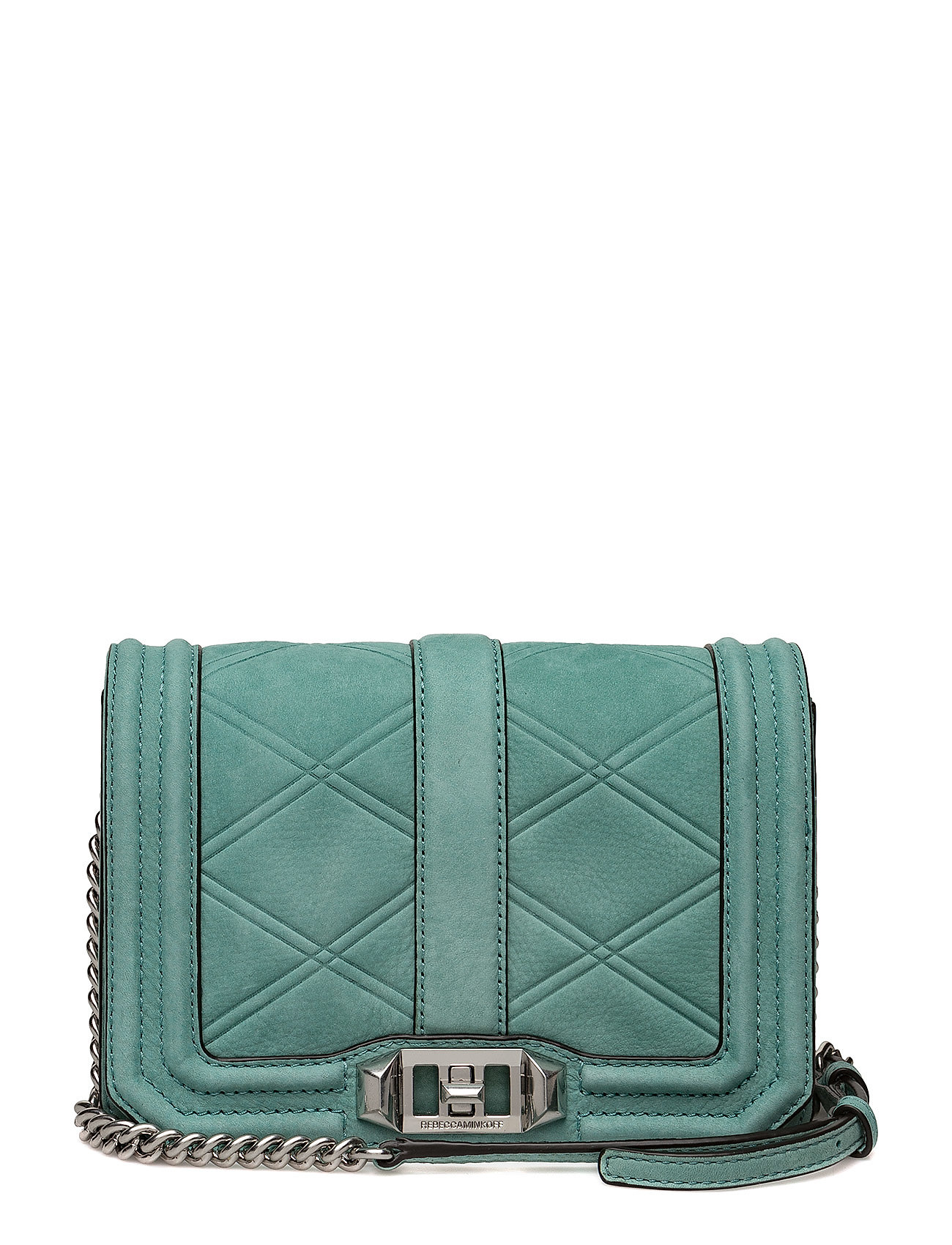 Small Love Crossbody Bag in Green Rebecca Minkoff 1GNyhwdDf