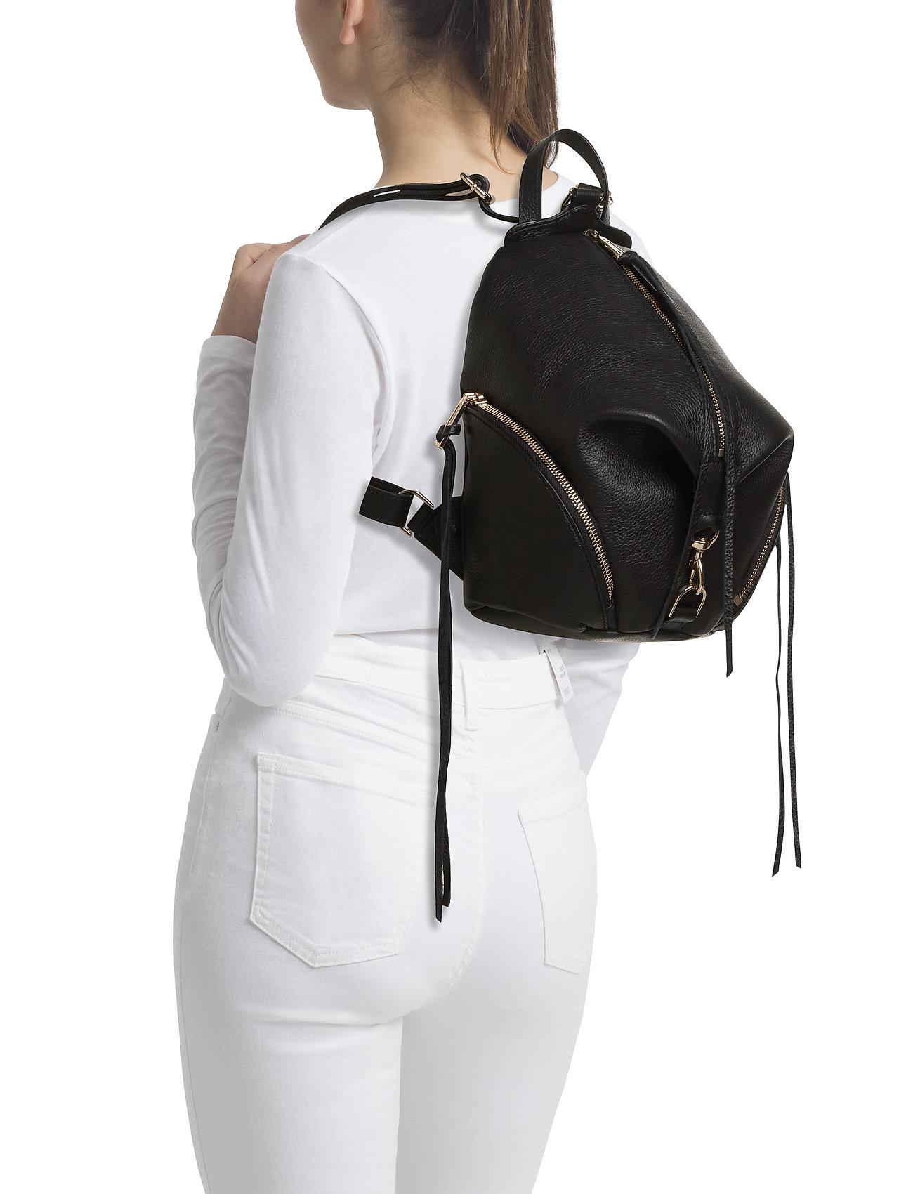 6e60ec47ec Medium Julian Backpack (Black   Gold) (£210.60) - Rebecca Minkoff ...