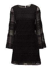 Grin Dress - BLACK