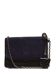 Mini Chain Crossbody - 001 BLACK /  ANTIQUE SILVER