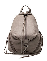 Medium Julian Backpack - GREY / ANTIQUE SILVER