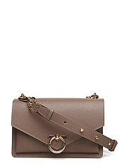 Jean Md Shoulder Bag - MINK LIGHT GOLD
