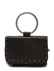 Ring Crossbody - BLACK / ANTIQUE SILVER