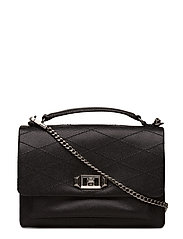 Je Taime Medium Crossbody - 001 BLACK / ANTIQUE SILVER