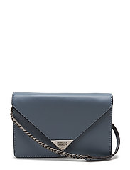 Molly Crossbody - DUSTY BLUE / ANTIQUE SILVER