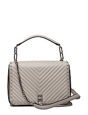 Med Becky Shoulder Bag - 269 PUTTY / PALLADIUM
