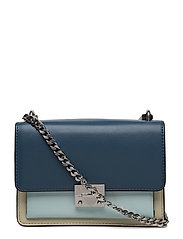 Christy Small Shoulder Bag - 470 BLUE MULTI / PALLADIUM