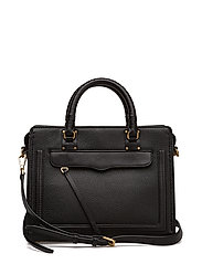 Bree Md Top Zip Satchel - 001 BLACK