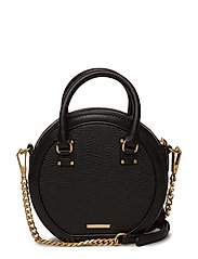Bree Circle Bag - 001 BLACK / BRASS GOLD