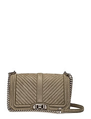 Love Crossbody - OLIVE / SILVER