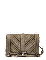 Small Love Crossbody - OLIVE / SILVER