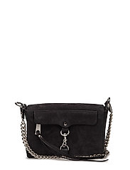 Mab Flap Crossbody - BLACK / SILVER