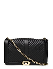 Slim Love Crossbody - BLACK / GOLD