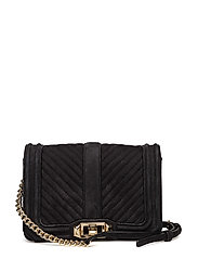 Small Love Crossbody - BLACK / GOLD